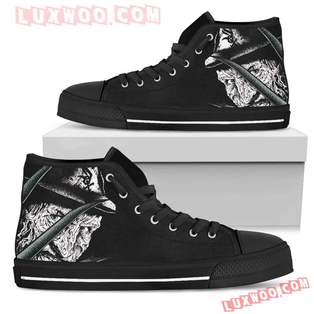 Chicago White Sox Nightmare Freddy Colorful High Top Shoes