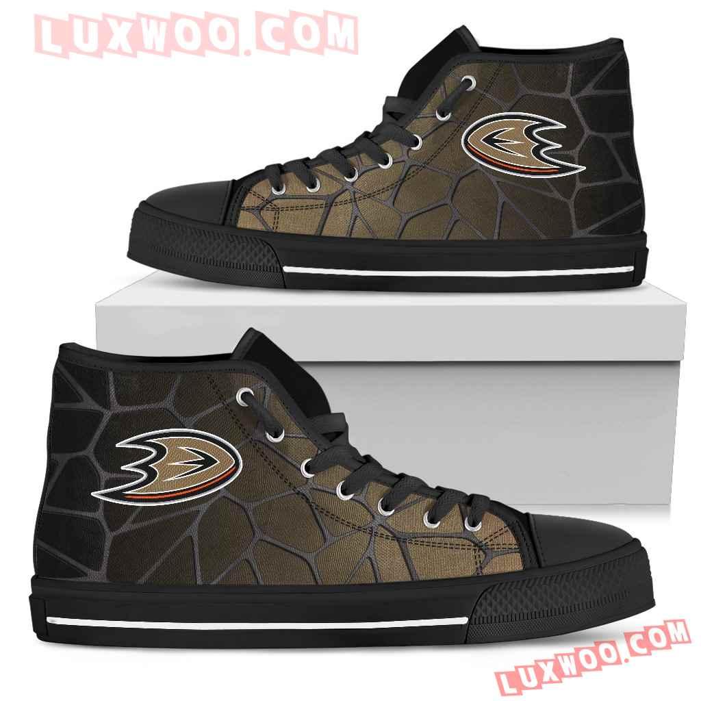 Colors Air Cushion Anaheim Ducks Gradient High Top Shoes