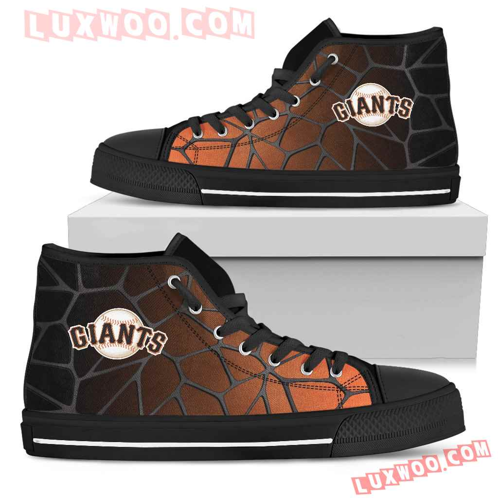 Colors Air Cushion San Francisco Giants Gradient High Top Shoes