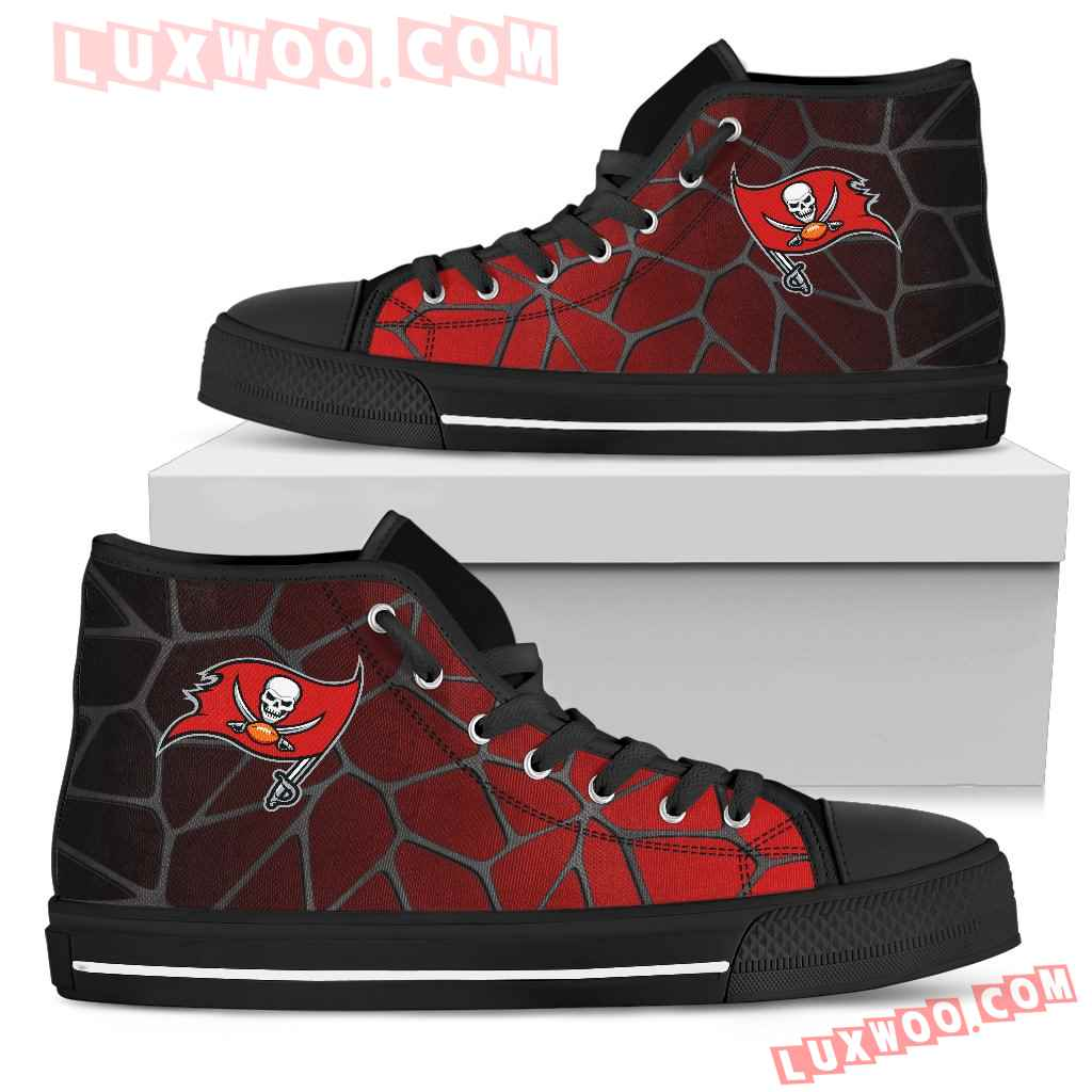 Colors Air Cushion Tampa Bay Buccaneers Gradient High Top Shoes