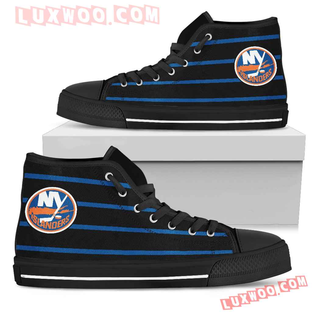 Edge Straight Perfect Circle New York Islanders High Top Shoes