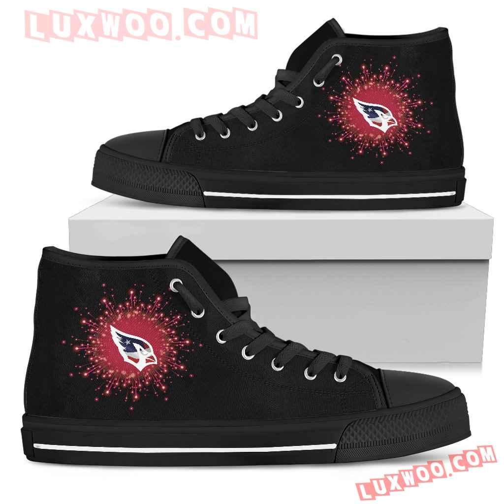 Fireworks Arizona Cardinals High Top Shoes
