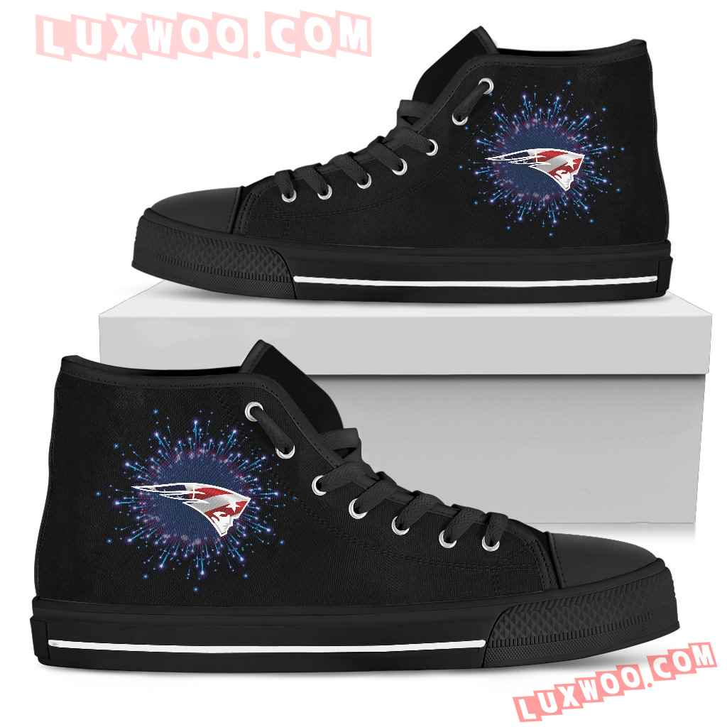 Fireworks New England Patriots High Top Shoes