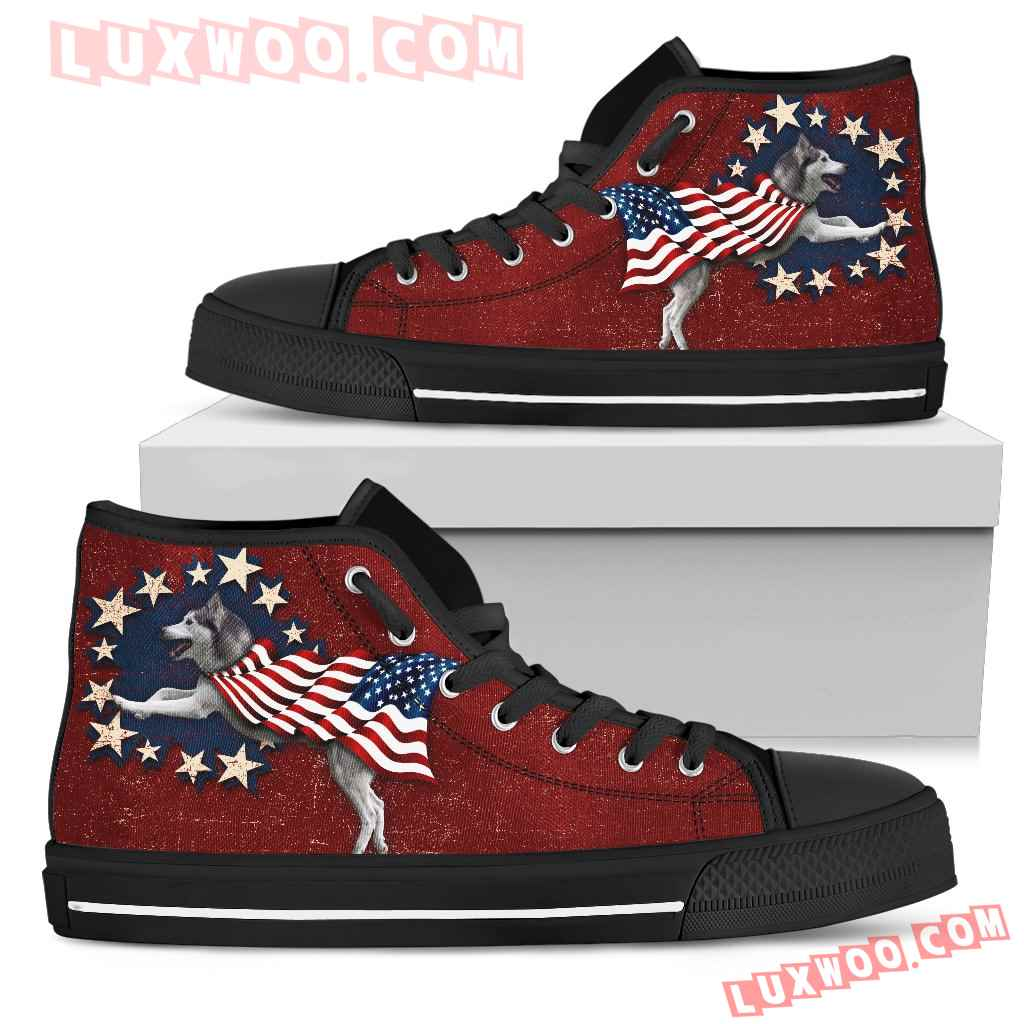 Husky - Independence Day High Top Shoes