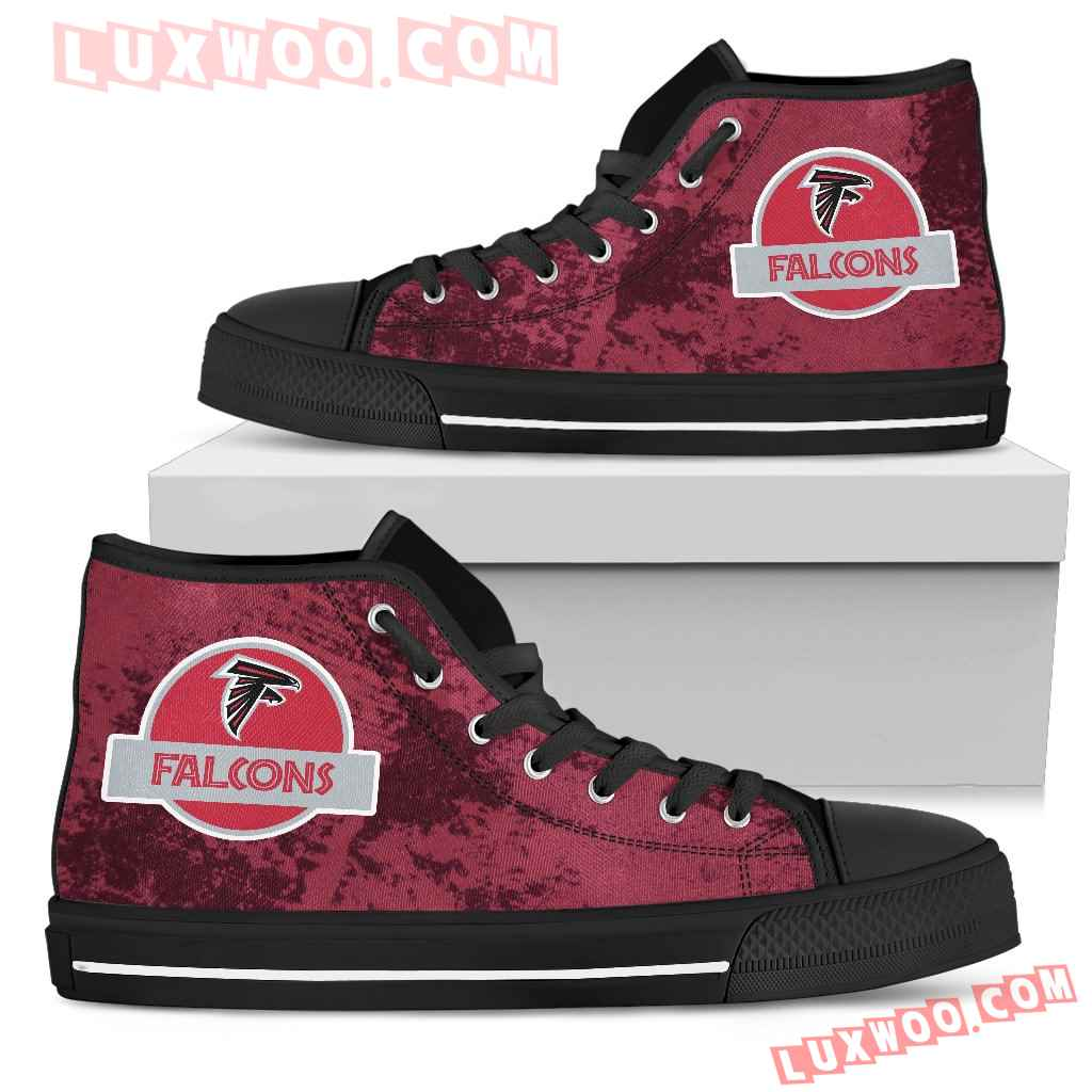 Jurassic Park Atlanta Falcons High Top Shoes