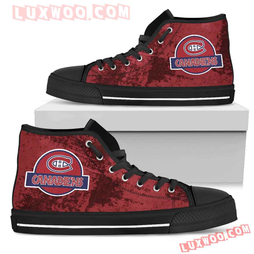 Jurassic Park Montreal Canadiens High Top Shoes