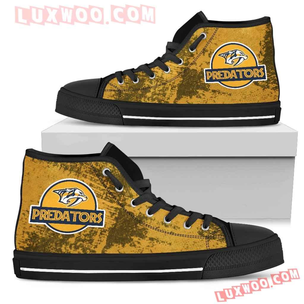 Jurassic Park Nashville Predators High Top Shoes
