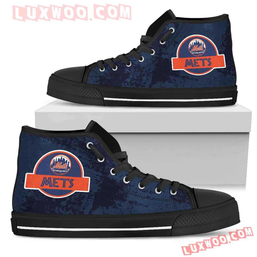 Jurassic Park New York Mets High Top Shoes