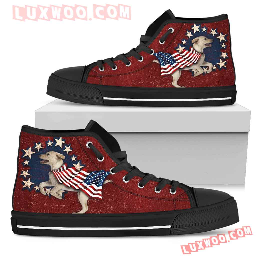 Labrador - Independence Day High Top Shoes