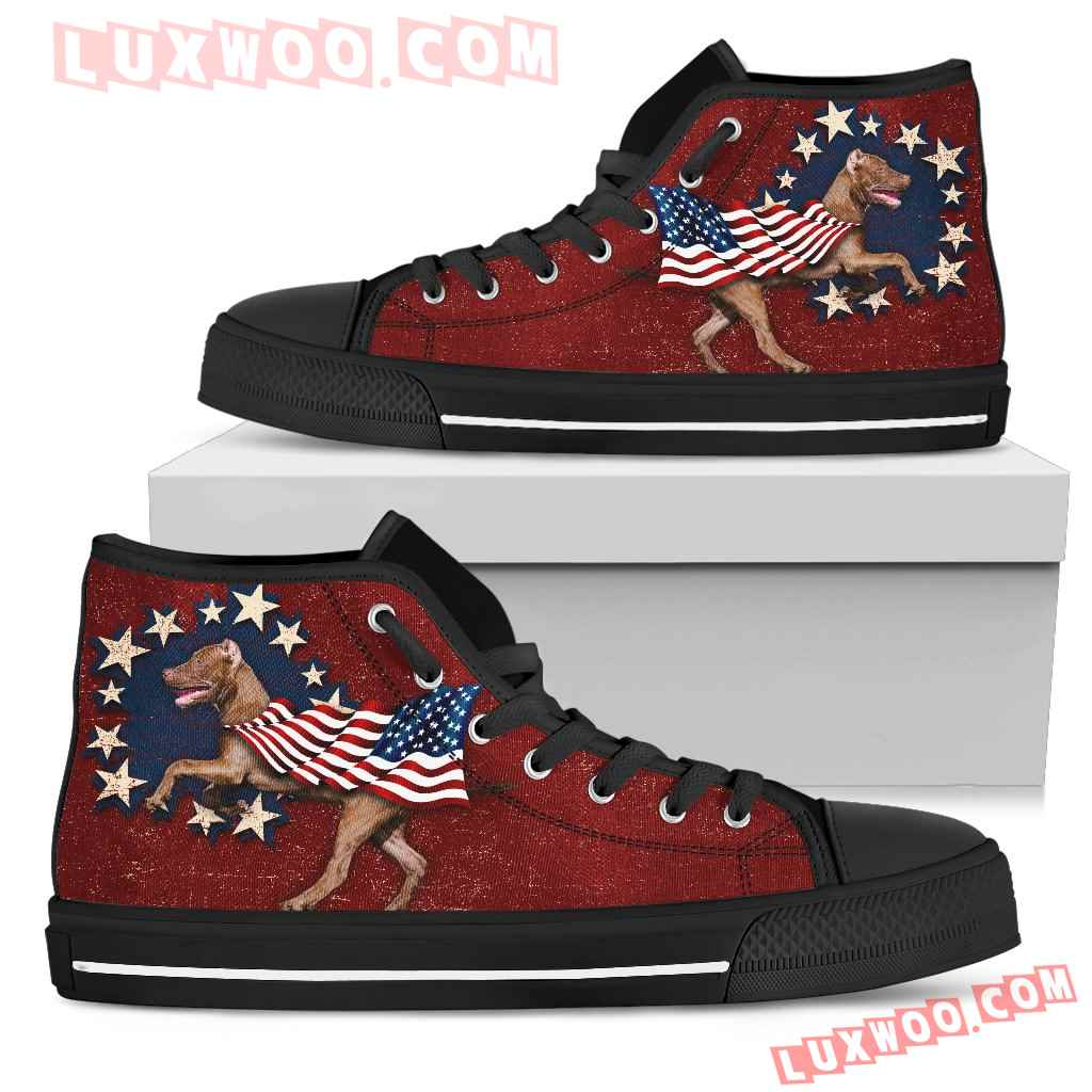 Pitbull - Independence Day High Top Shoes