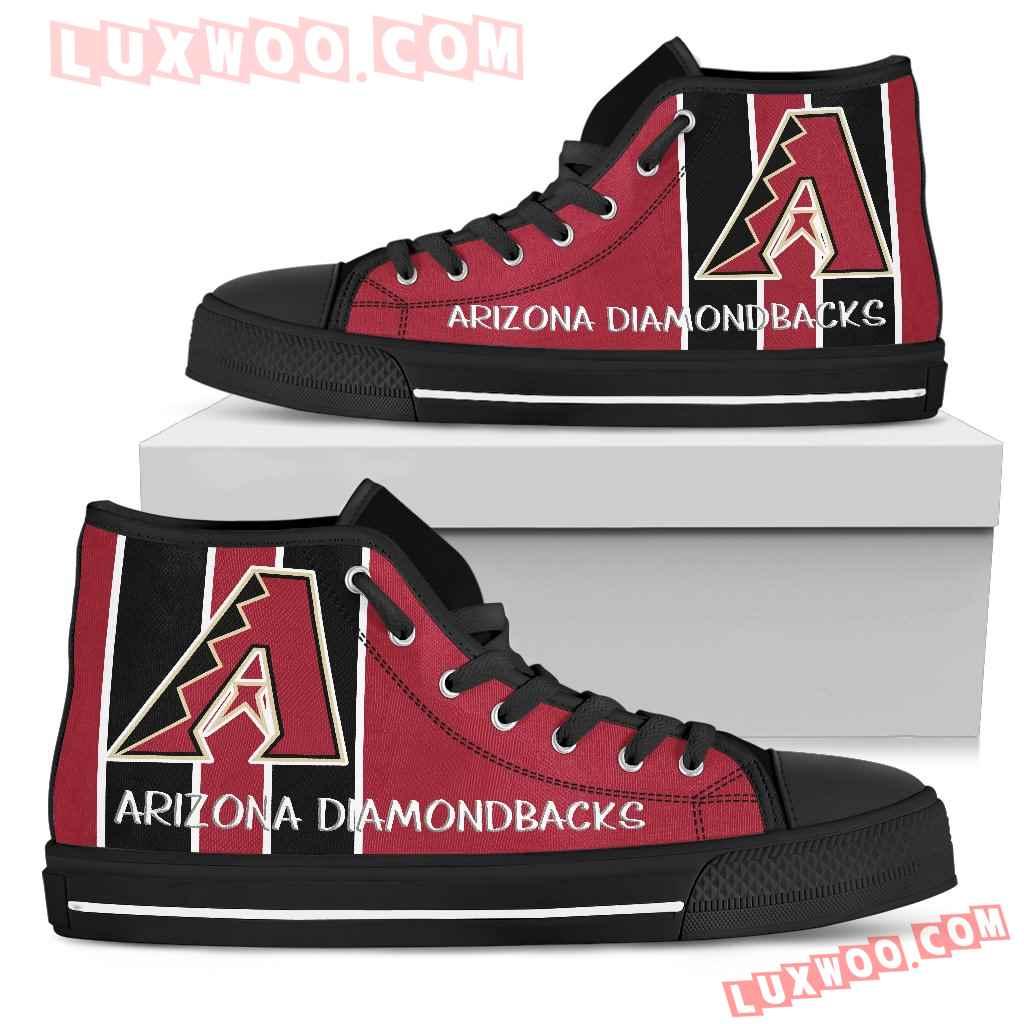 Steaky Trending Fashion Sporty Arizona Diamondbacks High Top Shoes