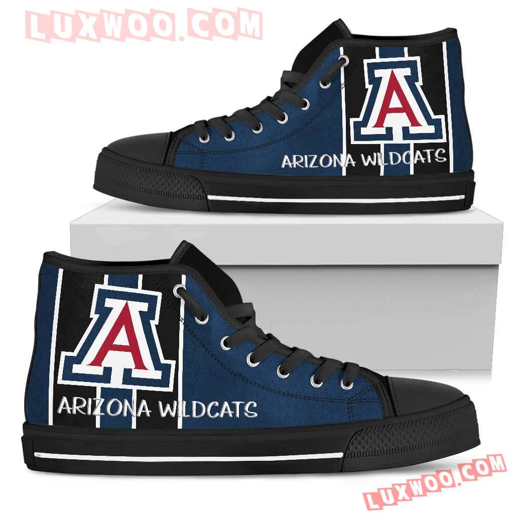 Steaky Trending Fashion Sporty Arizona Wildcats High Top Shoes
