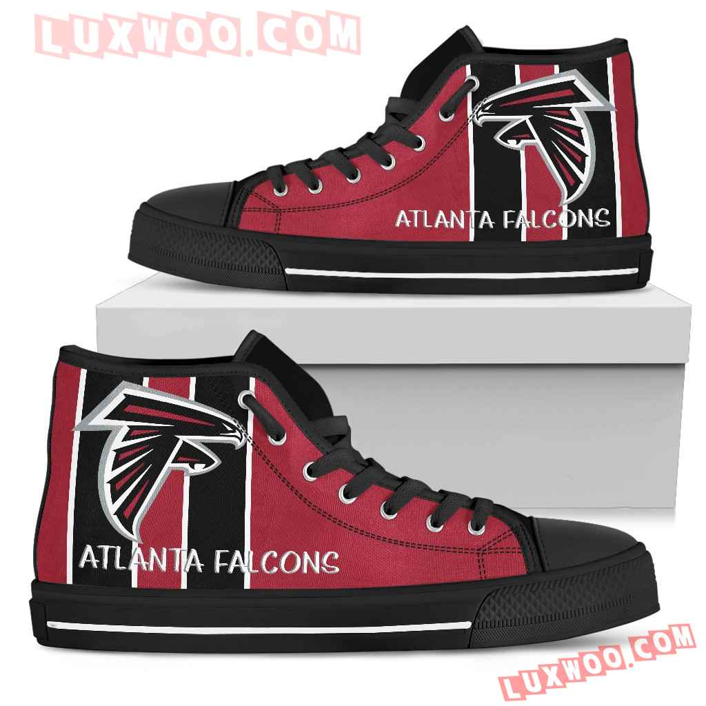 Steaky Trending Fashion Sporty Atlanta Falcons High Top Shoes
