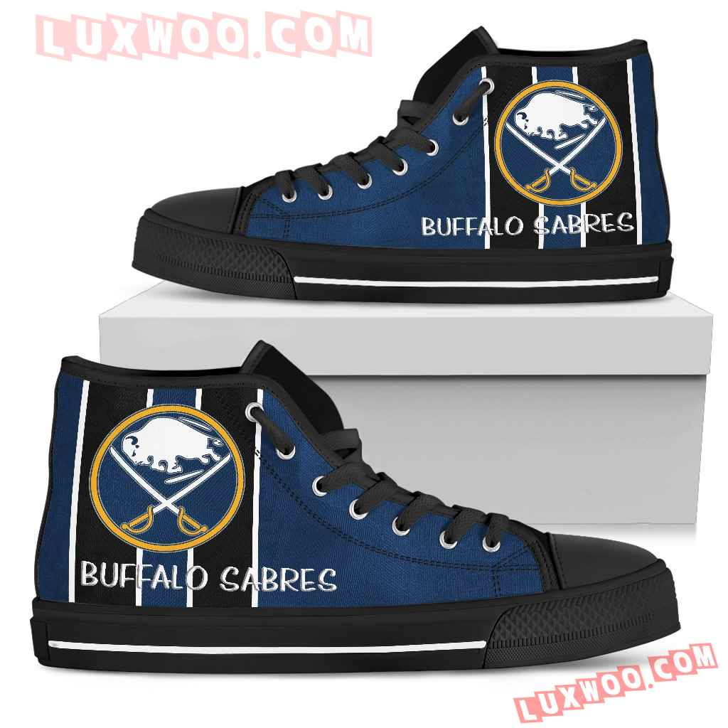 Steaky Trending Fashion Sporty Buffalo Sabres High Top Shoes