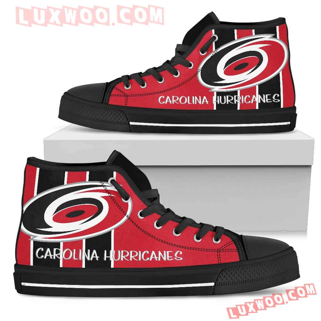 Steaky Trending Fashion Sporty Carolina Hurricanes High Top Shoes