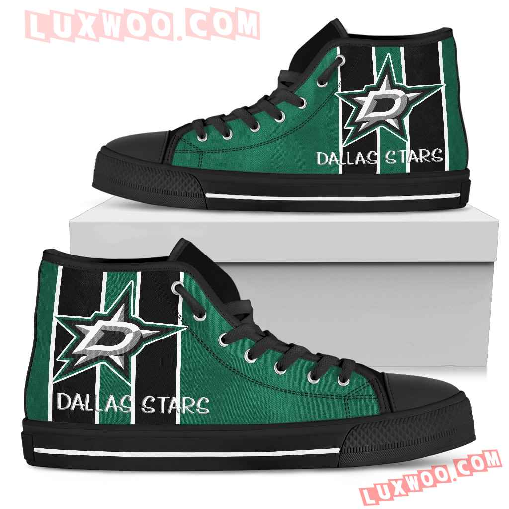 Steaky Trending Fashion Sporty Dallas Stars High Top Shoes