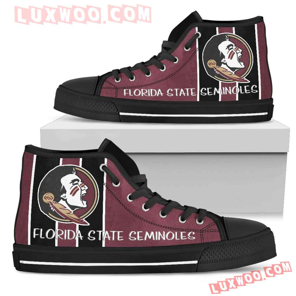 Steaky Trending Fashion Sporty Florida State Seminoles High Top Shoes