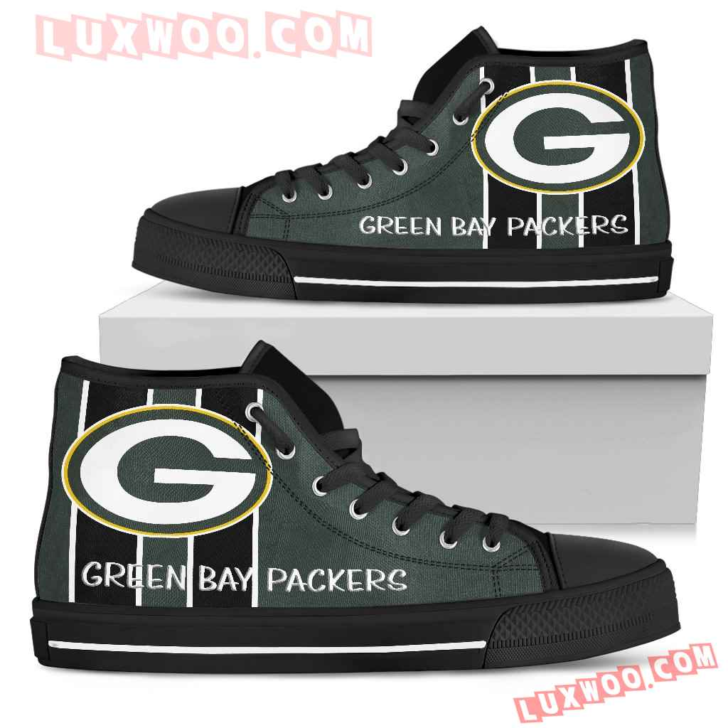 Steaky Trending Fashion Sporty Green Bay Packers High Top Shoes