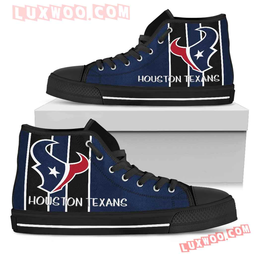 Steaky Trending Fashion Sporty Houston Texans High Top Shoes