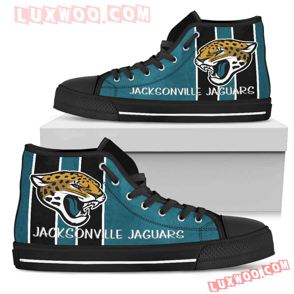 Steaky Trending Fashion Sporty Jacksonville Jaguars High Top Shoes