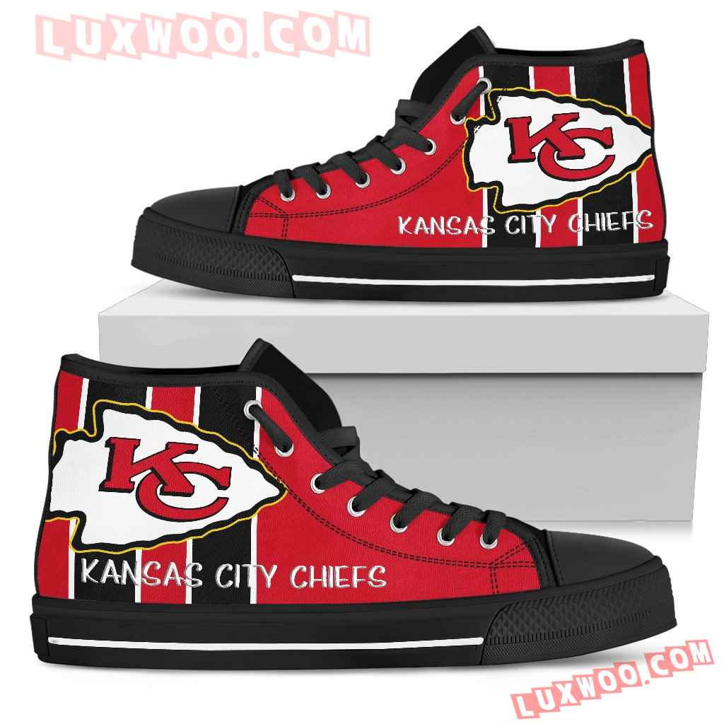 Steaky Trending Fashion Sporty Kansas City Chiefs High Top Shoes