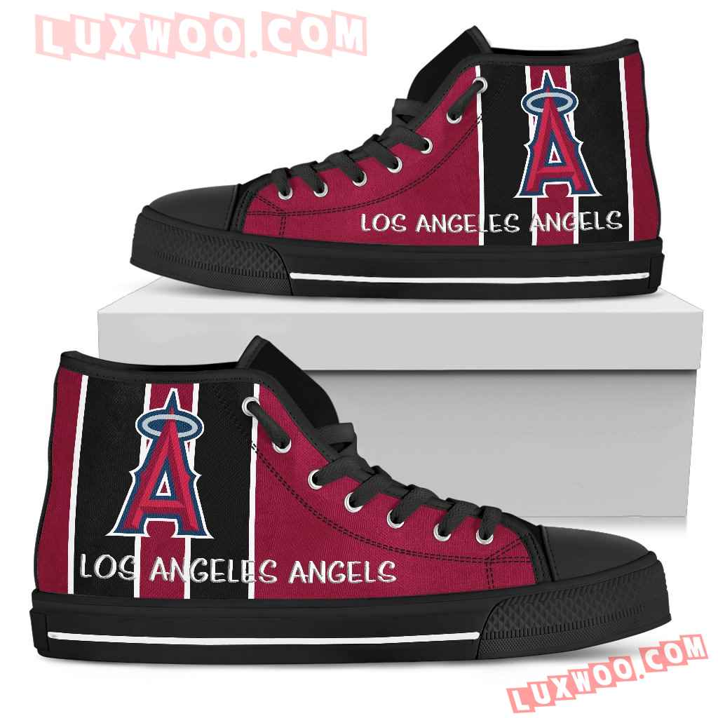 Steaky Trending Fashion Sporty Los Angeles Angels High Top Shoes