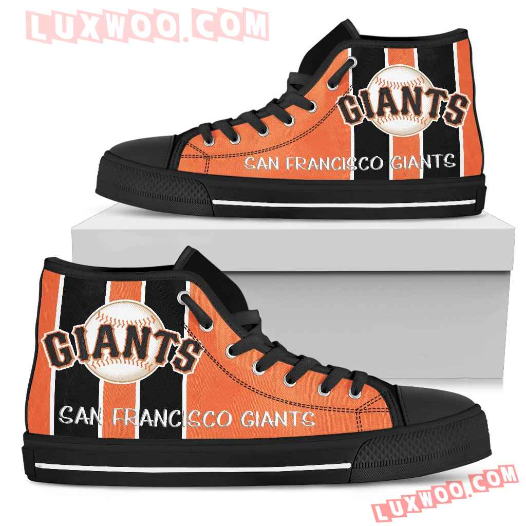 Steaky Trending Fashion Sporty San Francisco Giants High Top Shoes