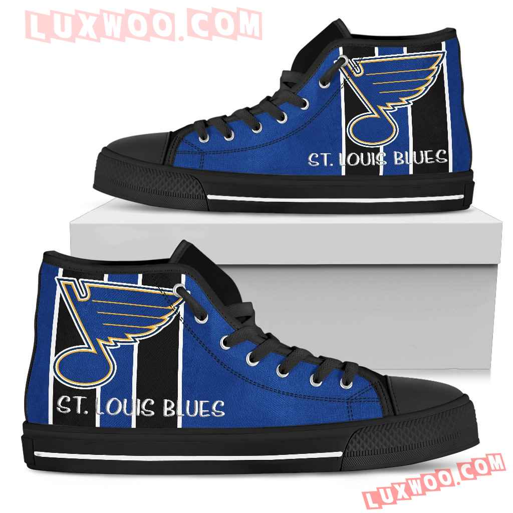 Steaky Trending Fashion Sporty St Louis Blues High Top Shoes