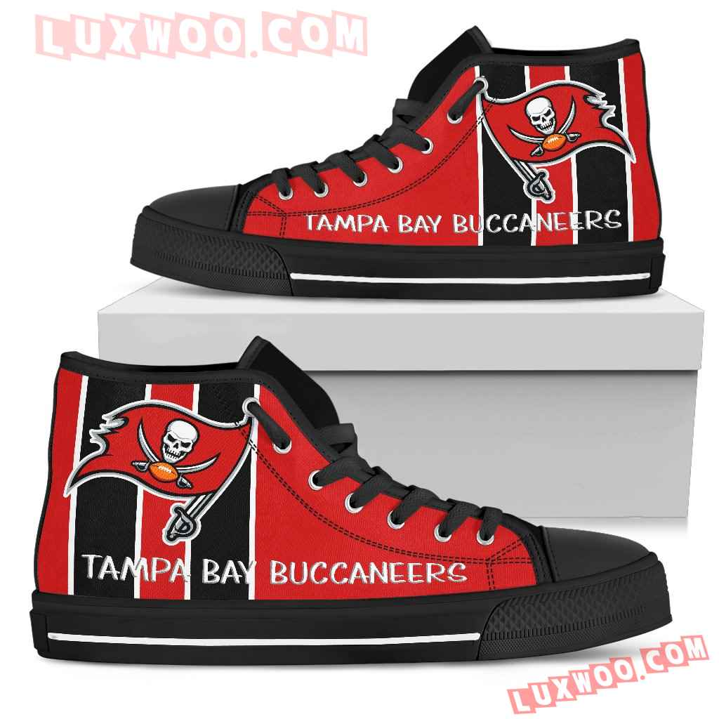 Steaky Trending Fashion Sporty Tampa Bay Buccaneers High Top Shoes