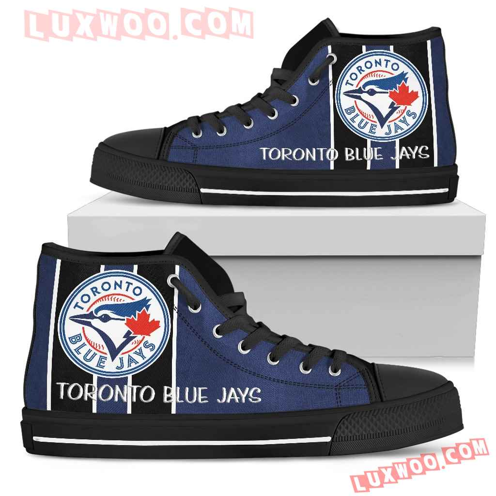 Steaky Trending Fashion Sporty Toronto Blue Jays High Top Shoes