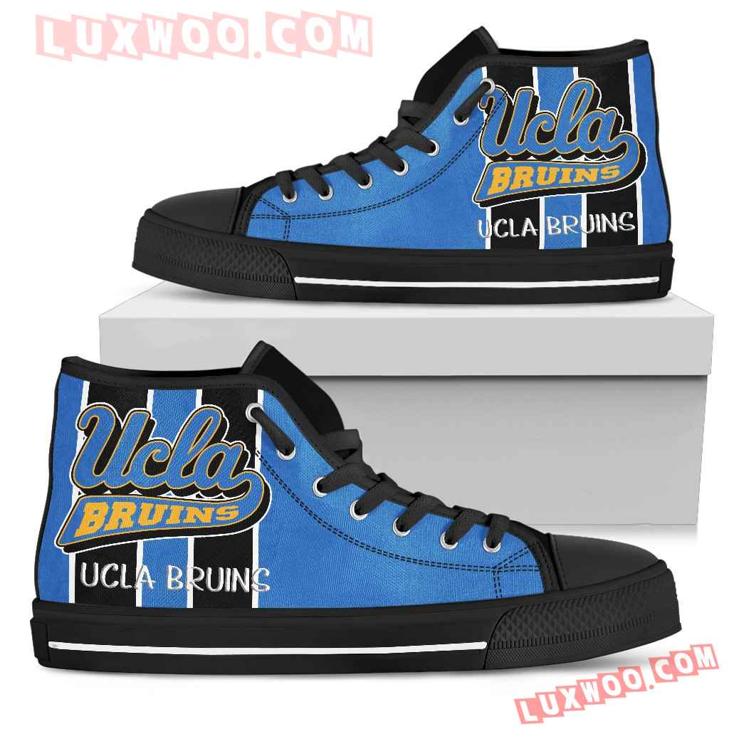 Steaky Trending Fashion Sporty Ucla Bruins High Top Shoes
