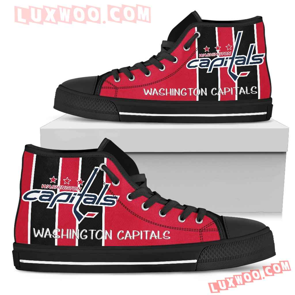 Steaky Trending Fashion Sporty Washington Capitals High Top Shoes
