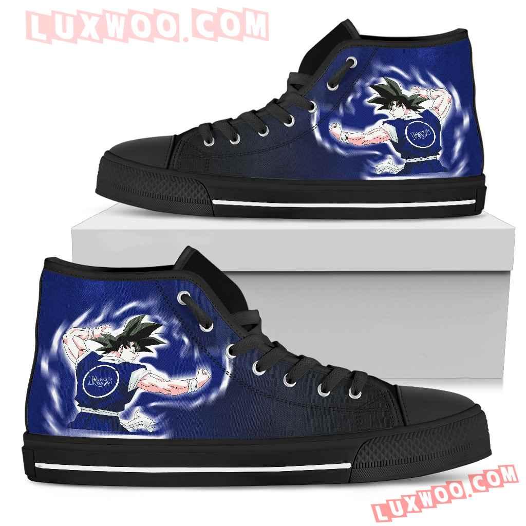 Tampa Bay Rays Goku Saiyan Power High Top Shoes