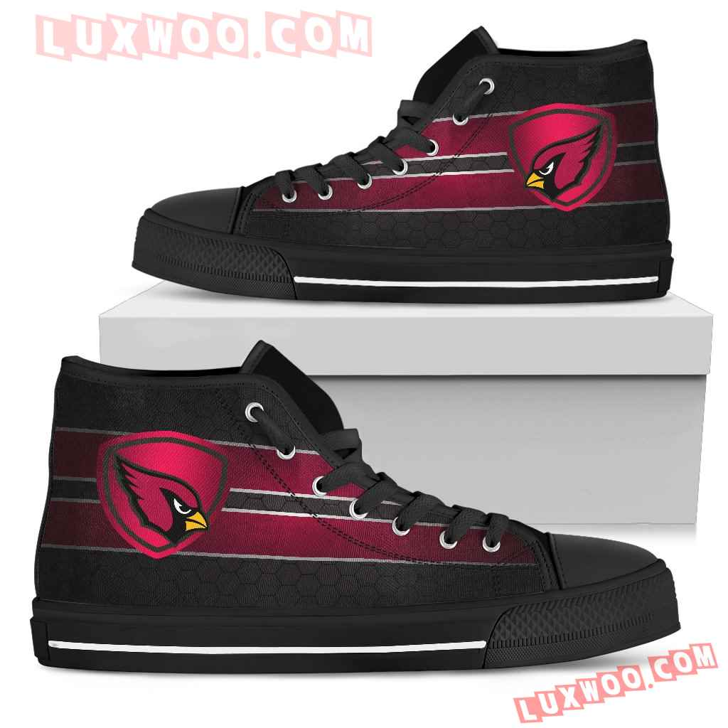 The Shield Arizona Cardinals High Top Shoes