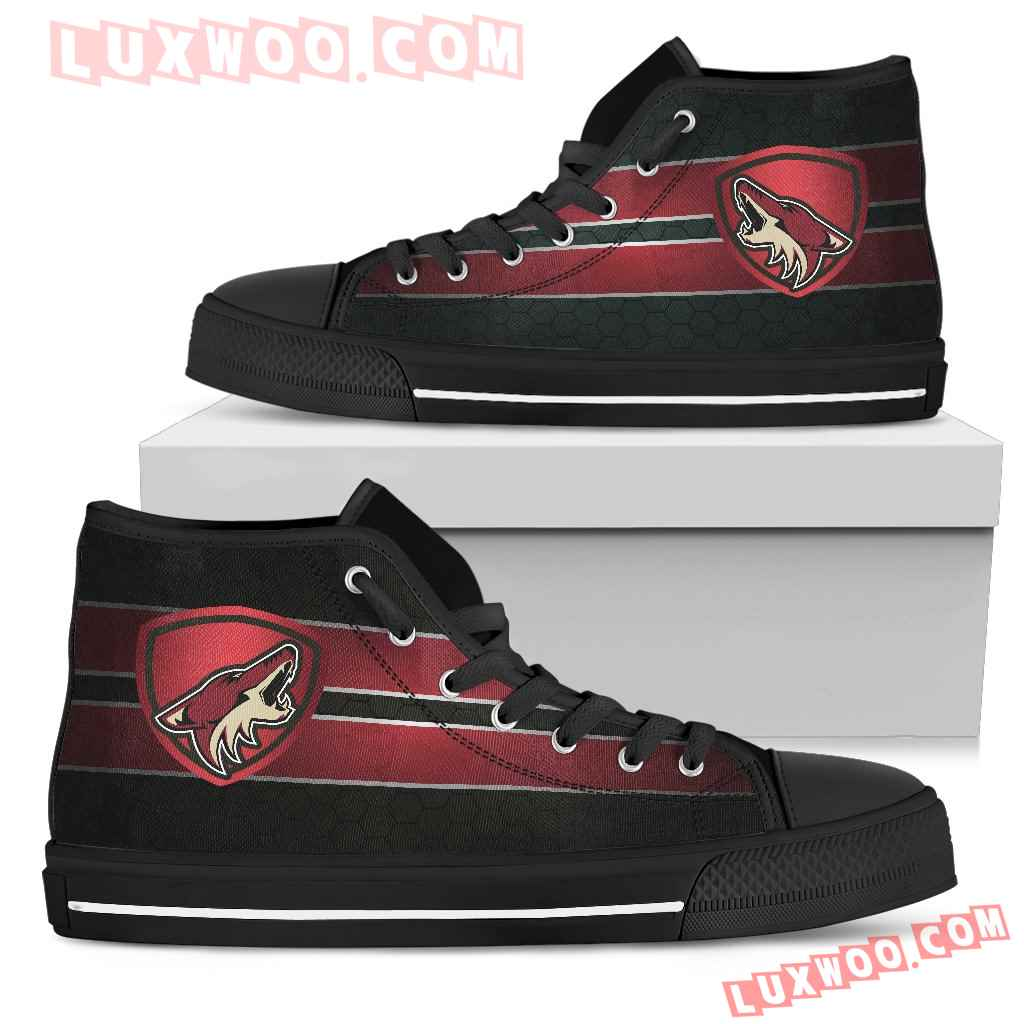 The Shield Arizona Coyotes High Top Shoes