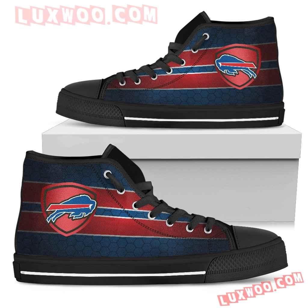 The Shield Buffalo Bills High Top Shoes