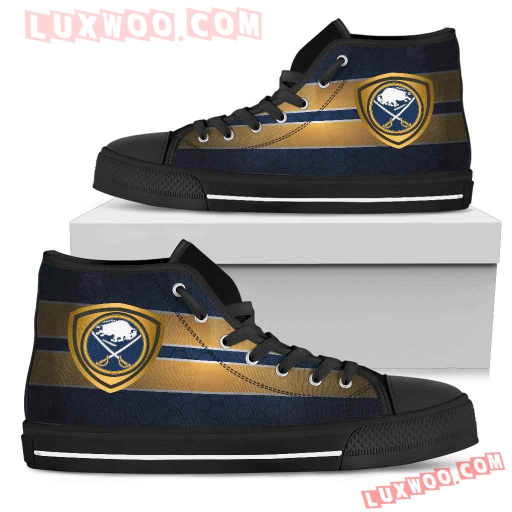 The Shield Buffalo Sabres High Top Shoes