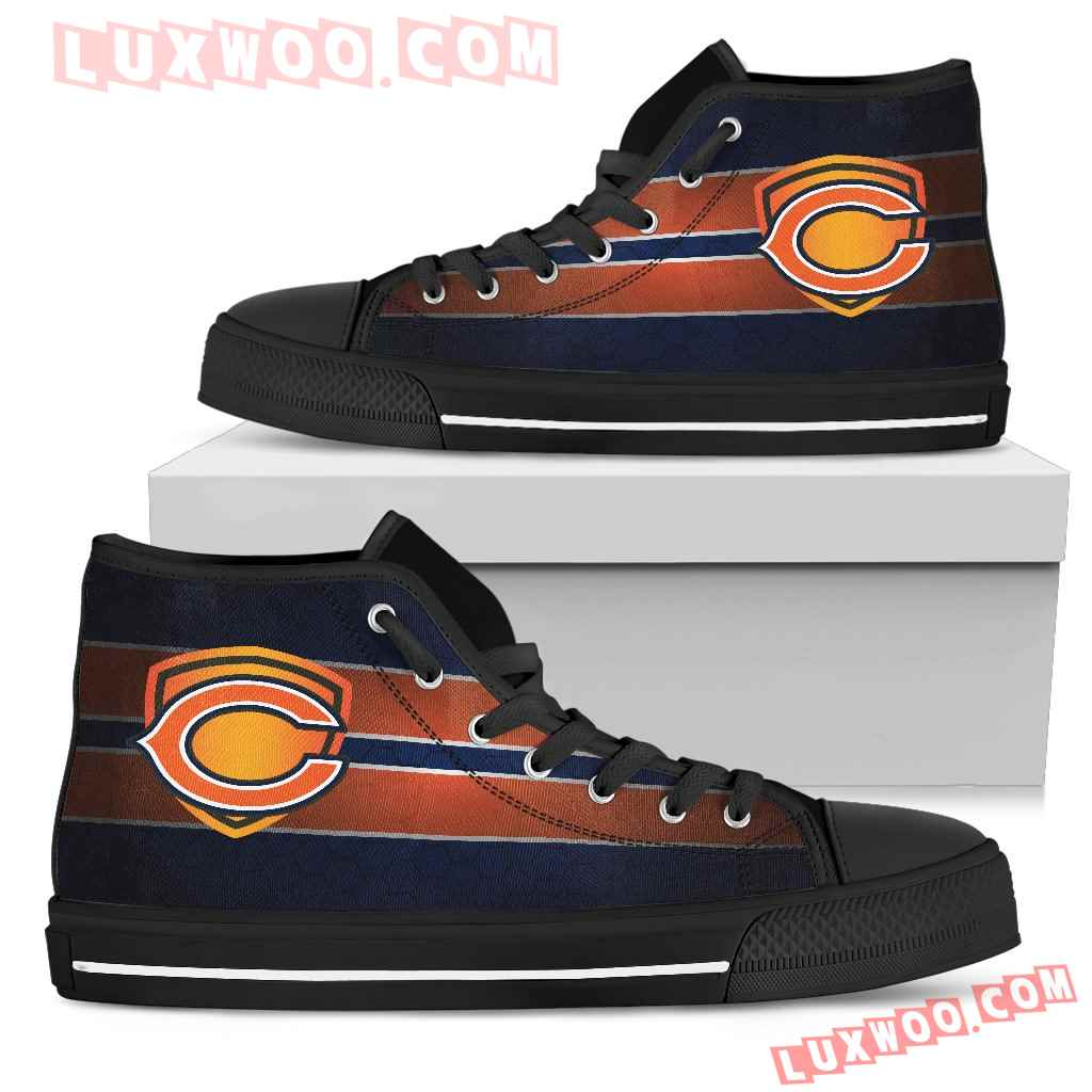 The Shield Chicago Bears High Top Shoes