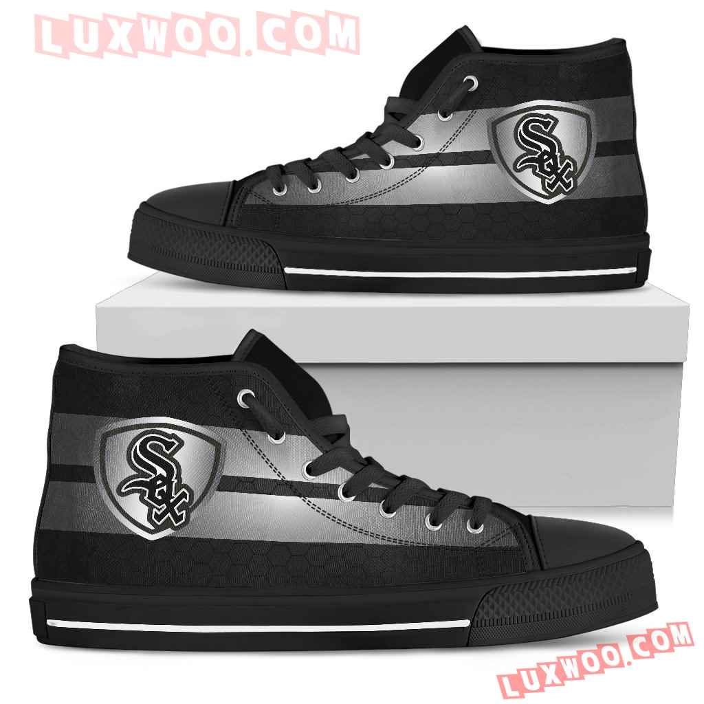 The Shield Chicago White Sox High Top Shoes