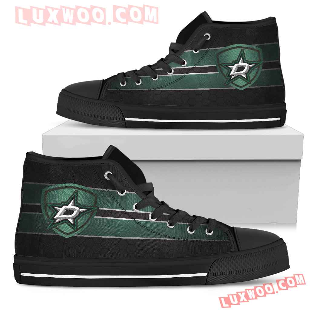 The Shield Dallas Stars High Top Shoes