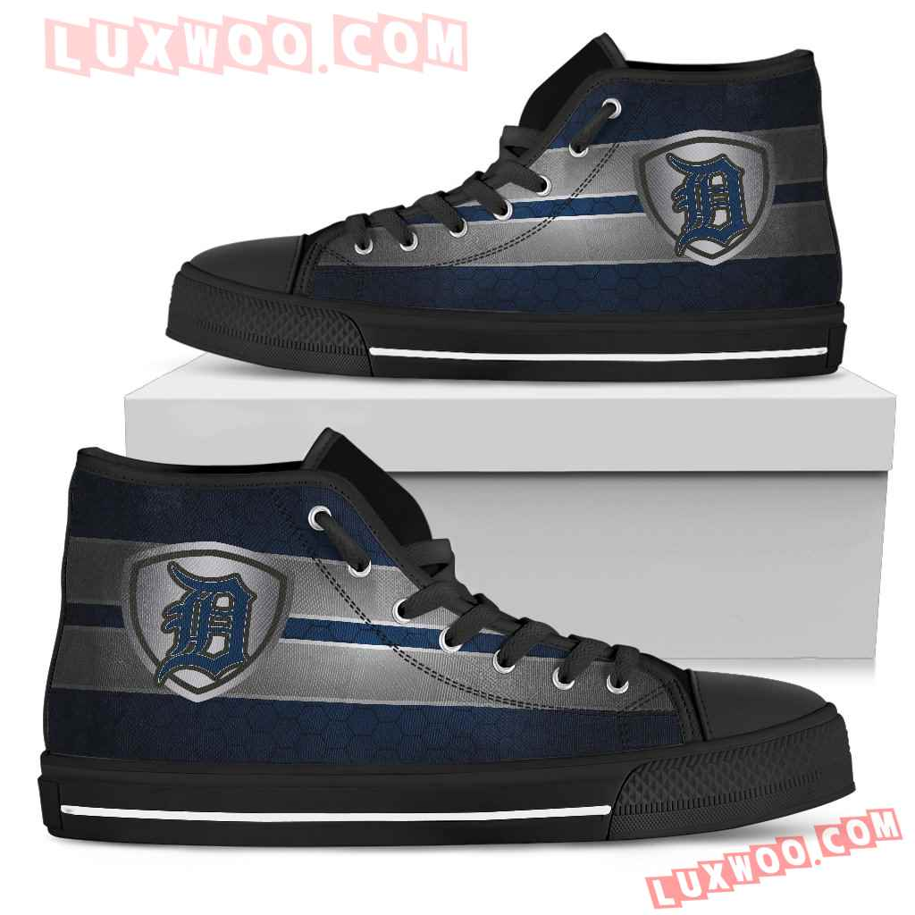 The Shield Detroit Tigers High Top Shoes