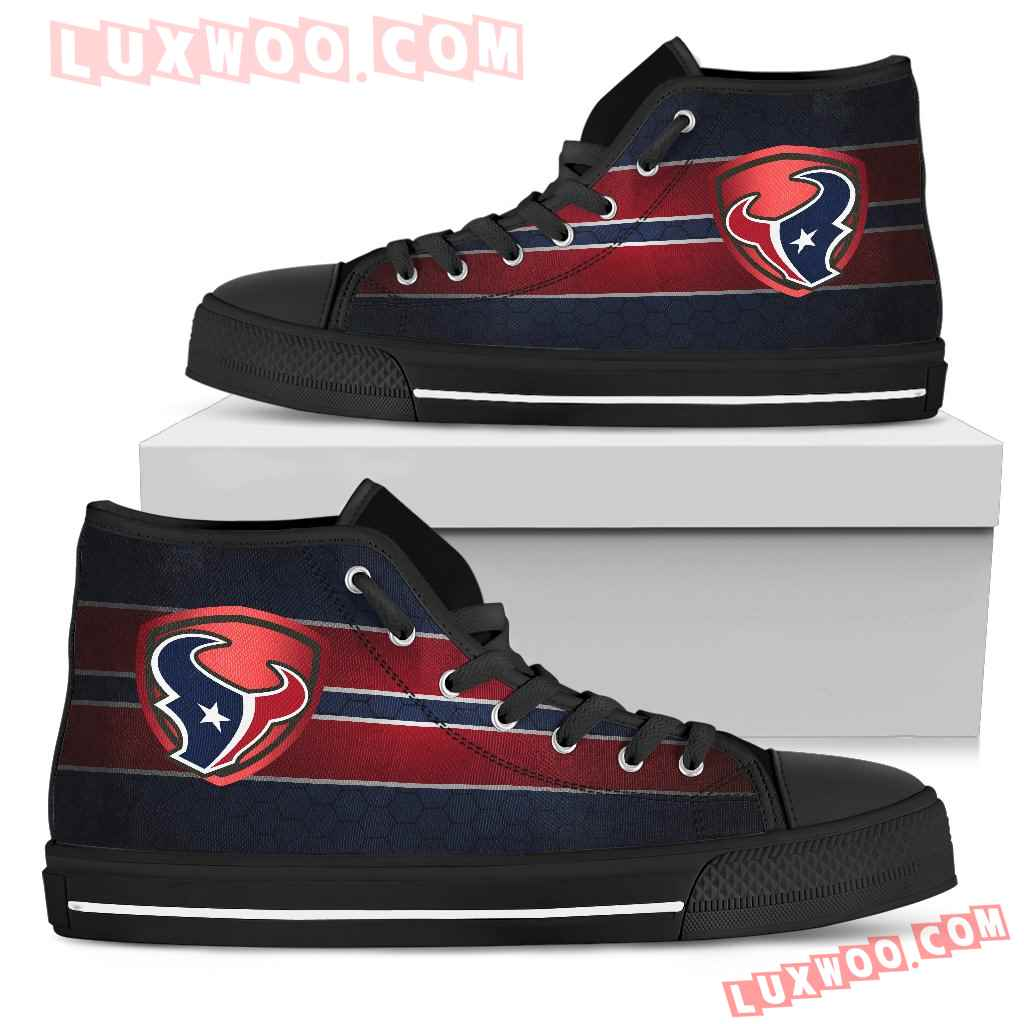 The Shield Houston Texans High Top Shoes