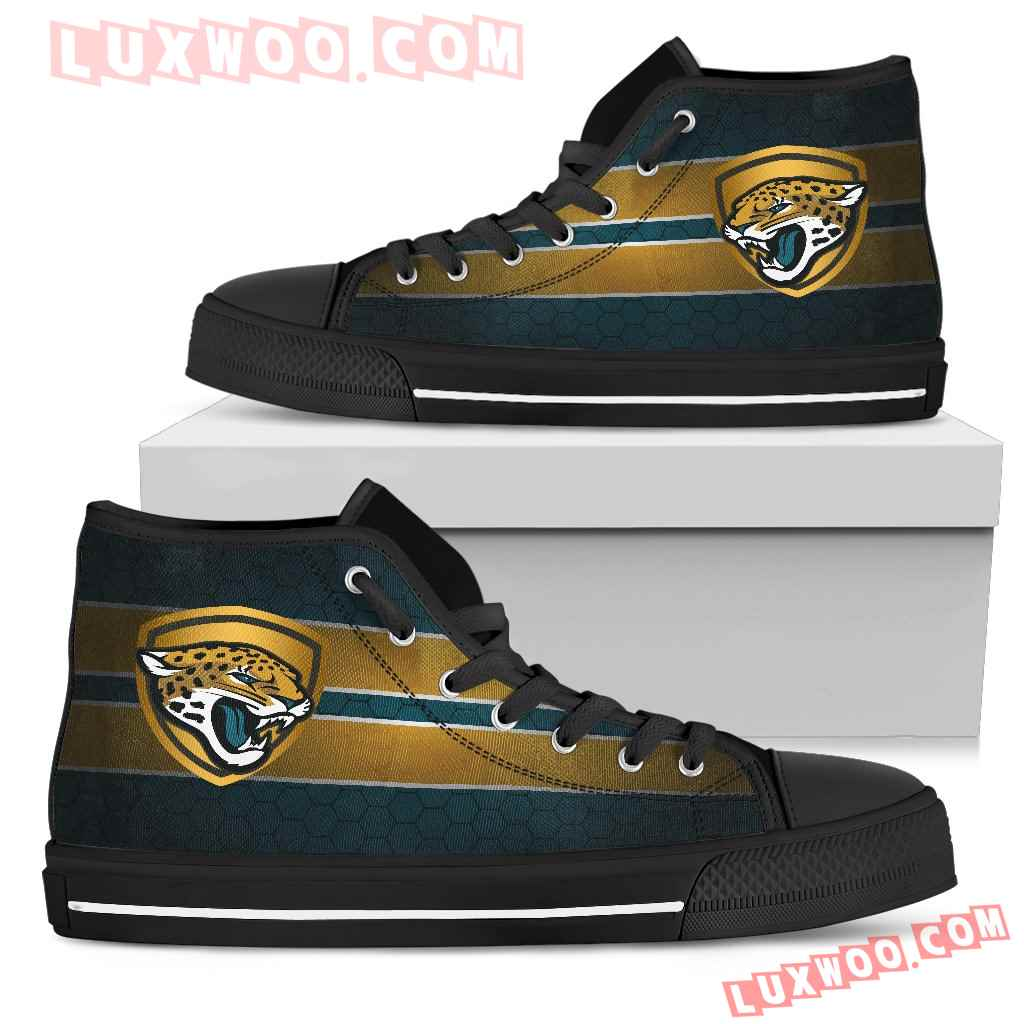 The Shield Jacksonville Jaguars High Top Shoes