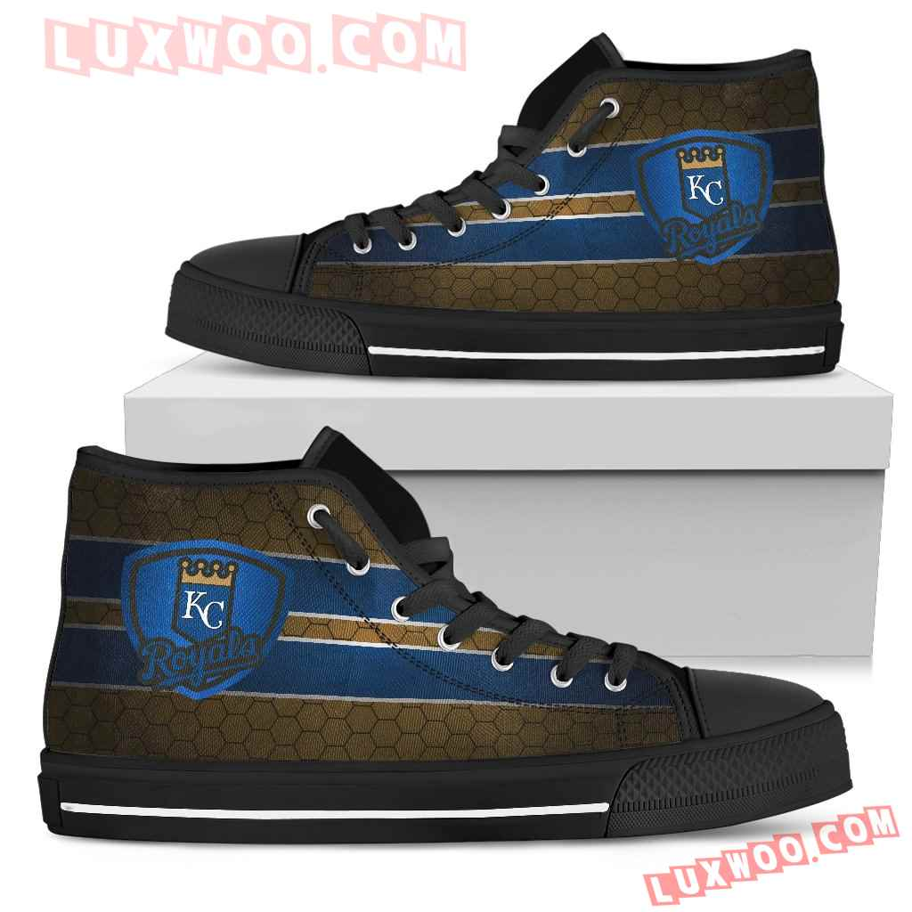 The Shield Kansas City Royals High Top Shoes