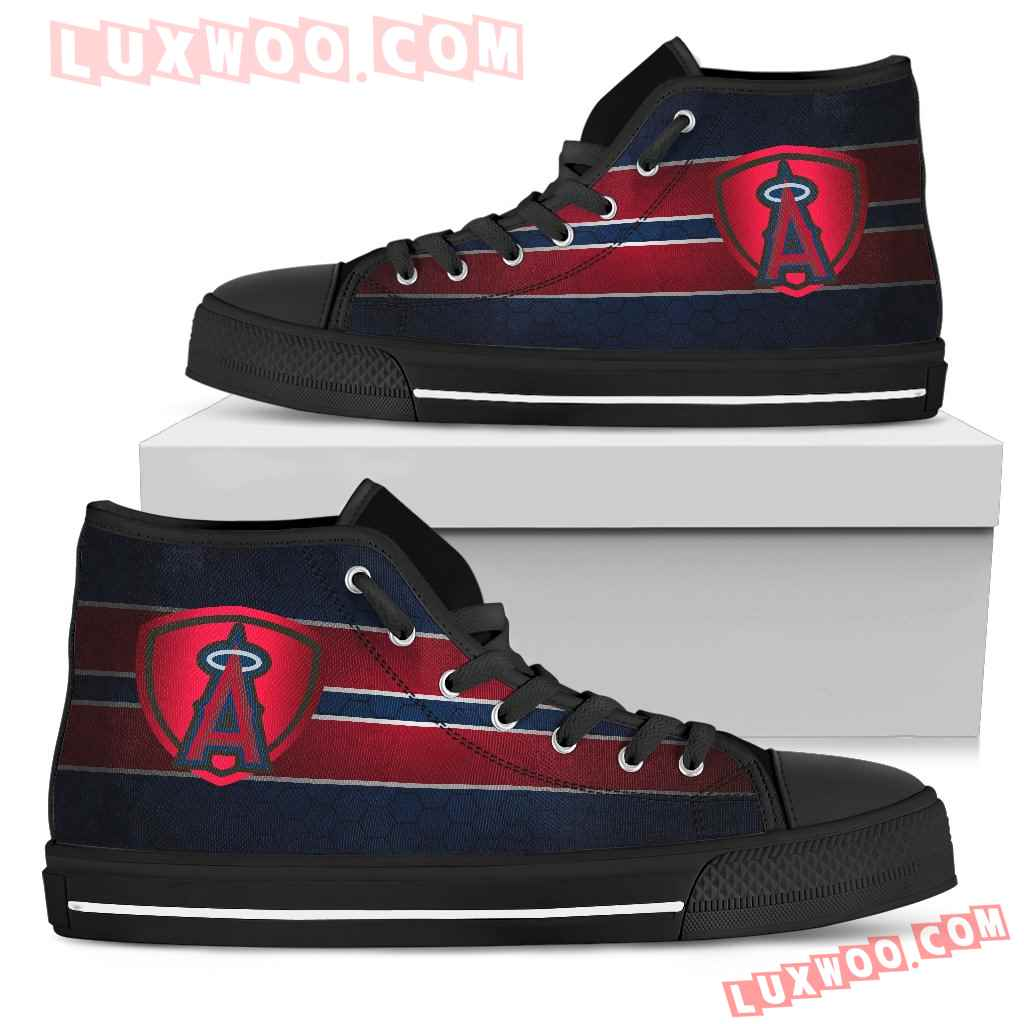 The Shield Los Angeles Angels High Top Shoes