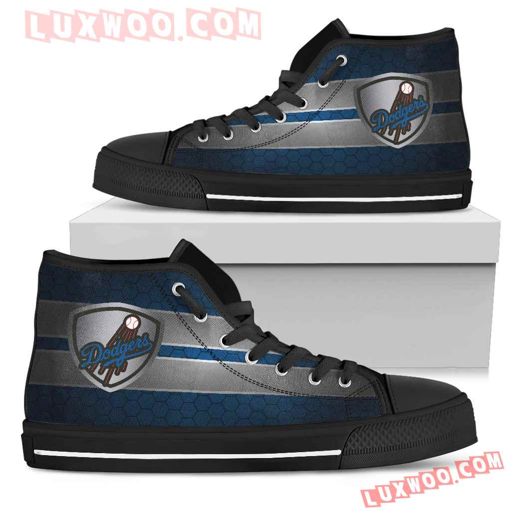 The Shield Los Angeles Dodgers High Top Shoes