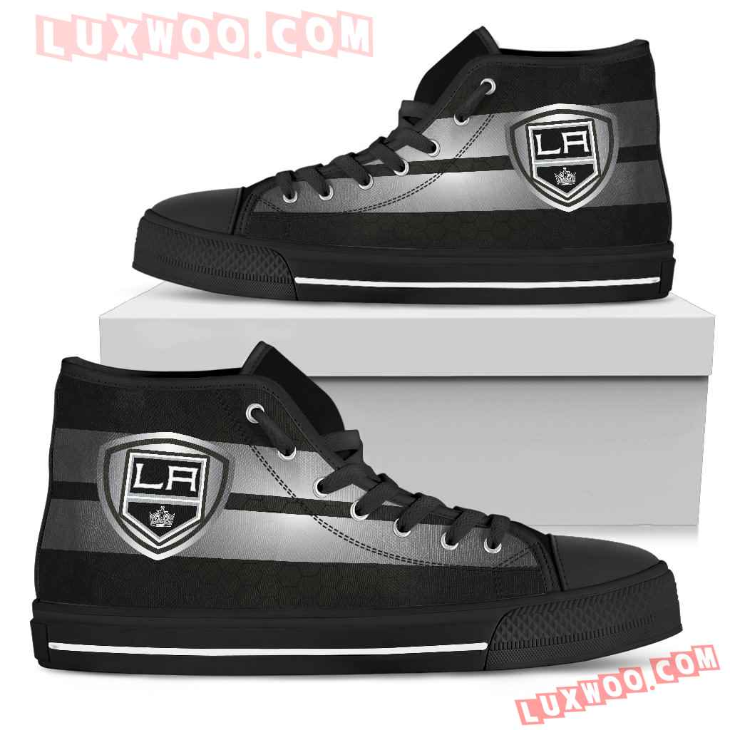 The Shield Los Angeles Kings High Top Shoes