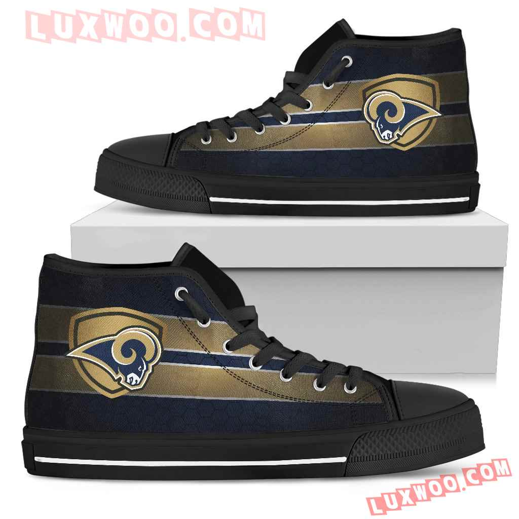 The Shield Los Angeles Rams High Top Shoes