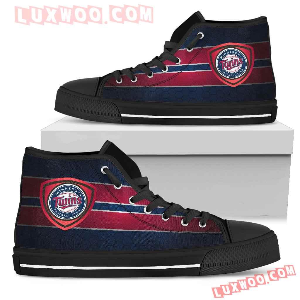 The Shield Minnesota Twins High Top Shoes
