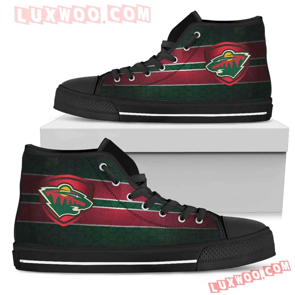 The Shield Minnesota Wild High Top Shoes